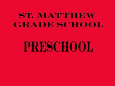 St. Matthew Grade School